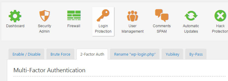 two factor plugins