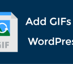 Add GIFs in WordPress