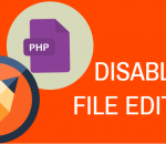 Disable file editing