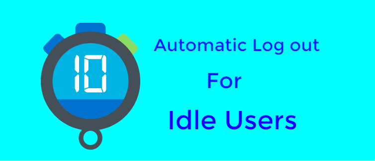 Set automatic log out for idle users
