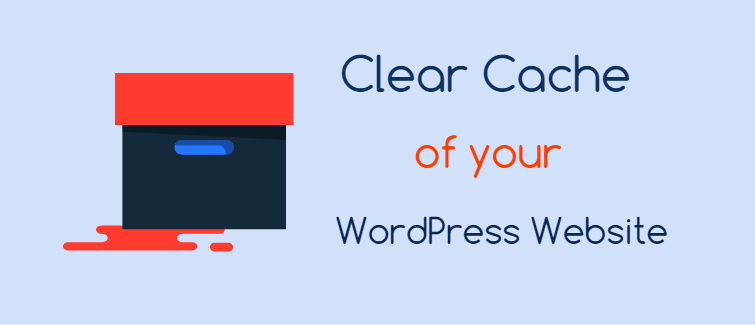 Clear cache of your WordPress website