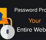 Password protect your entire WordPress website