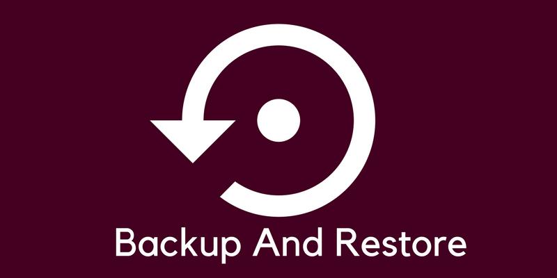 backup and restore your WordPress website