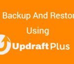 Backup and restore your WordPress website using UpdraftPlus