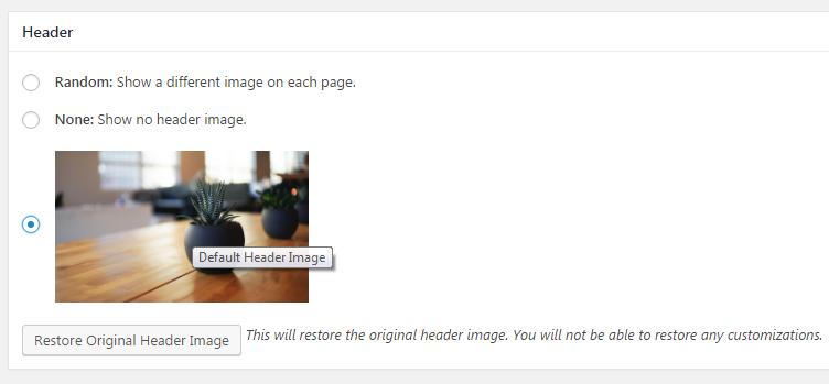 Random header image in WordPress