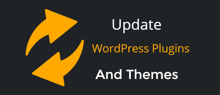 Update WordPress plugins and themes