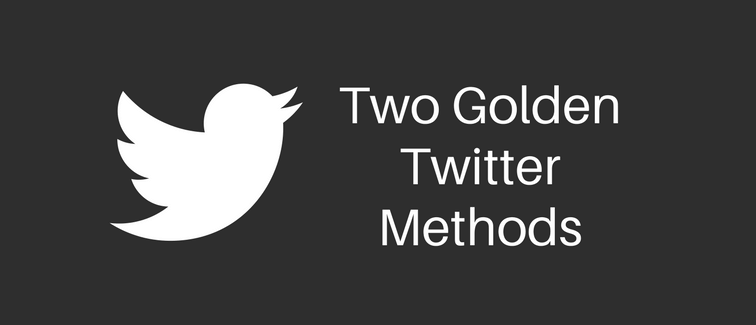 Two Twitter Methods