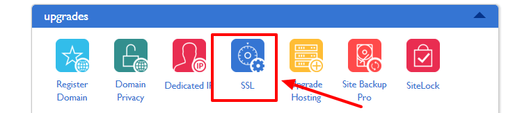 enable SSL on Bluehost