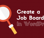 Add a job board in WordPress