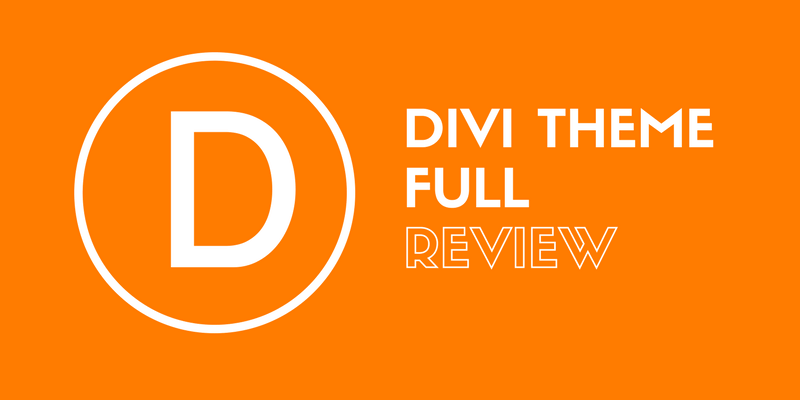Divi theme full review